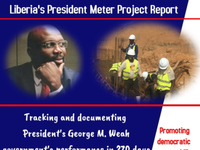 Naymote Releases 270 Days Performance Report of President George Weah's Administration