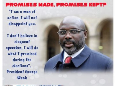 One-Year-Report-On-President-Weah-Performance-2019